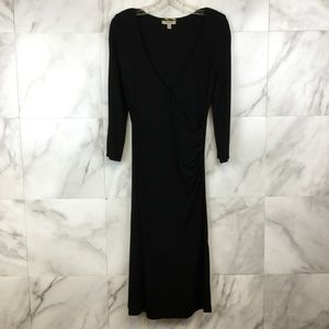 Burberry Wrap Midi Dress - size 8